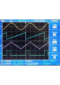 Function Generator Waveforms - T340
