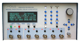 P400 Digital Delay and Pulse Generator